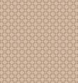 Seamless round corner squares pattern background vector image