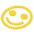 happy coins vector image