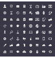 Big universal icon set vector image