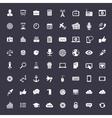 Big universal icon set vector image