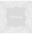My wedding card vector image