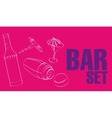 Bar  Restaurant Theme vector image vector image