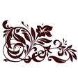 Floral element for design vector image vector image