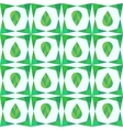 Abstract geometry seamless pattern with leaves vector image
