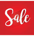 Sale Lettering Design vector image