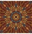 Circle decorative pattern vector image