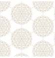 Classic damask Ornament pattern vector image