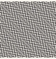 halftone edgy lines mosaic endless stylish texture vector image