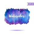 Watercolor-style spot vector image