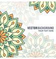 wedding card or invitation vector image