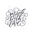 romantic lettering quote vector image