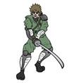 attact sword vector image