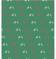 Seamless patterns with reindeer vector image