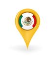Location Mexico vector image