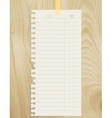note sheet vector image vector image