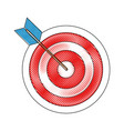 arrow and bow icon vector image