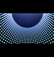 abstract futuristic grid vector image