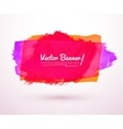 Hand drawn banner vector image