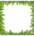 Christmas Green Framework vector image