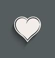 Heart - icon vector image