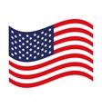 usa flag icon image vector image