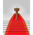 red carpet 03 vector image
