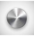Abstract Circle Button Template vector image