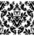 damas pattern vector image vector image