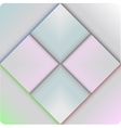 Colorful square blank vector image