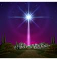 Bethlehem vector image