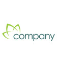 Natural care logo healthy vector image