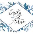 wedding invite invitation save the date card vector image