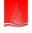 christmas magic - magical tree vector image