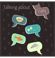 About cats vector image