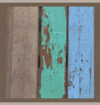 wood rustic grunge texture wooden background vector image