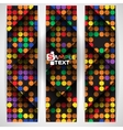 Abstract Colorful Mosaic Pattern Design vector image vector image