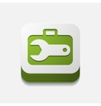 square button wrench vector image
