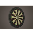 Darts board vector image