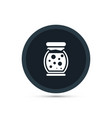 jam icon simple food vector image