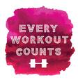 Sport motivation quote vector image