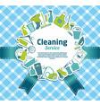clean icon vector image