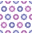 background seamless - colored flowers vector image