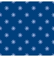 Blue chamomile seamless pattern vector image
