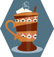 Mexican Hot Chocolate vector image