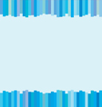 The Modern Vertical Blue Lines on Background vector image