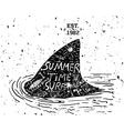 Summer design grunge style vector image