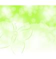 spring summer background vector image