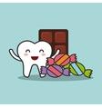 dental hygiene design vector image