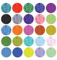 circles set vector image