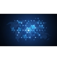 Global network security vector image